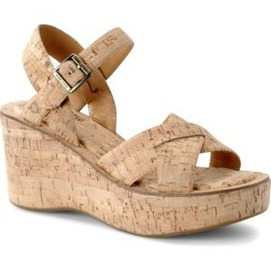 Kork-Ease Ava Cork Platform Sandal Wedge